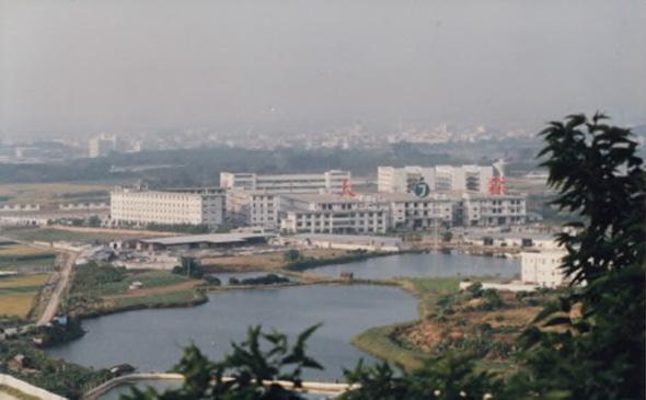 中国東莞の工場