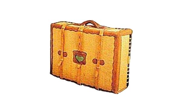 トランク型柳行李