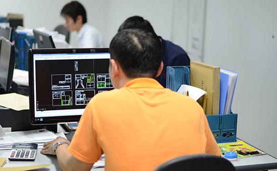 YURI ABC DANANG Co., LTD 工場内