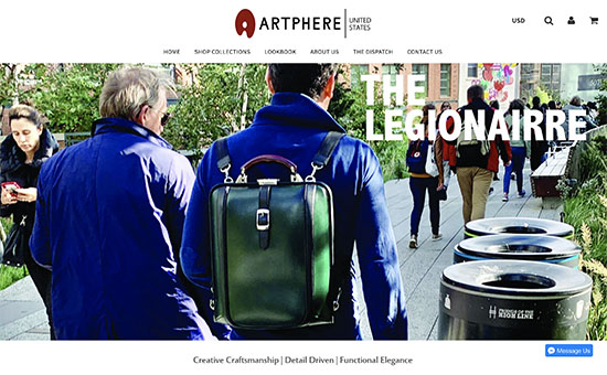ARTPHERE ECサイト画像 YURI CO.,LTD.